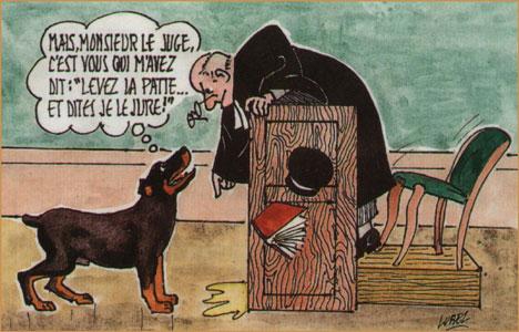 Dessin Humoristique Chien les hovawarts chiens guides pour aveugles de paris - réglementation